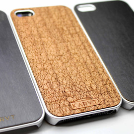 karvt - iPhone Wood and Chrome plated  case