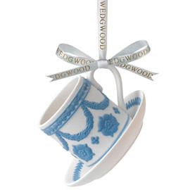 Wedgwood - Wedgwood - Iconic Teacup & Saucer Ornament