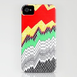 society6 - Isometric Harlequin #1 iPhone Case