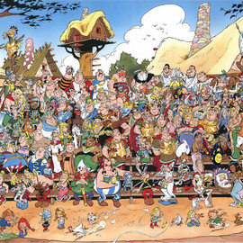 Asterix and the Gaul - Asterix / All Casts
