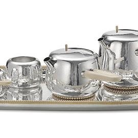 GEORG JENSEN - Tea set, Marc Newson designed