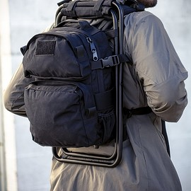 Defcon Tactical Gear - Backpack Chair - Black