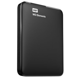 Western Digital - WD Elements Portable 2TB (ポータブルHDD, 高速USB 3.0/USB 2.0対応 Windows 8対応 バスパワー給電) WDBU6Y0020BBK-JESN