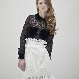 VIVETTA - Love lace shirt