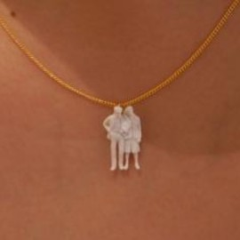 Aquvii  - people Necklace