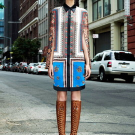 GIVENCHY by Riccardo Tisci - Pre Spring Collection 2013