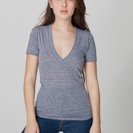 American Apparel - deep v