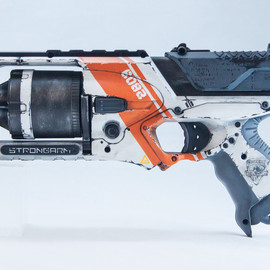 NERF - Painted N-STRIKE ELITE STRONGARM BLASTER