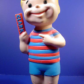 Clark Bar - Clark Bar Boy Doll, 1960's