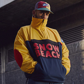 Polo Sport, Ralph Lauren - Half Zip Smock Jacket - Snow Beach