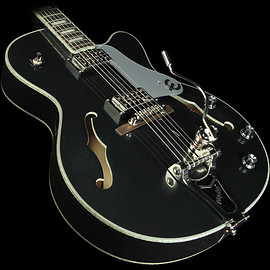 Epiphone - Epiphone Limited Edition Emperor Swingster Black Royale Electric Guitar