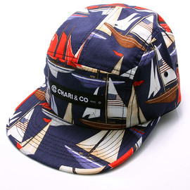 Chari&co - Nautical 5 panel CAP