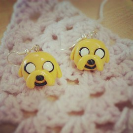 Adventure time - Jake earring