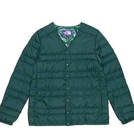 THE NORTH FACE PURPLE LABEL - Down Cardigan-Green