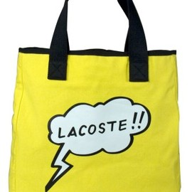 LACOSTE - Comic Croc Shopping Bag