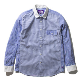 THE NORTH FACE PURPLE LABEL - Cotton OX Stripe Shirt