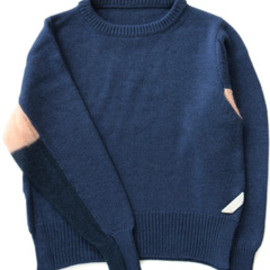 PHINGERIN - One Point Mohair Knit (navy)