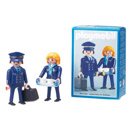 PLAYMOBIL - Lufthansa Captain & Crew