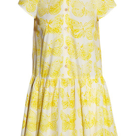 RED Valentino - Printed cotton-poplin dress