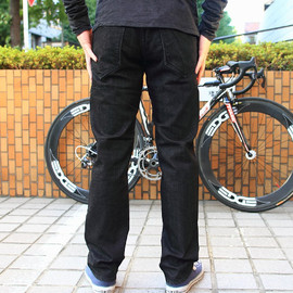 BLUE LUG - *BLUE LUG* stretch bike denim (black)