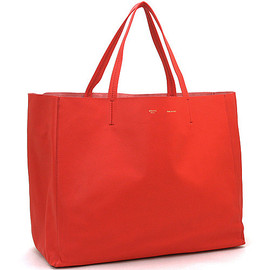 CELINE - Horizontal Cabas Primary Red
