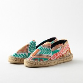 Steven Alan - cross stitch espadrille