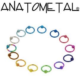 ANATOMETAL - Captive Bead Rings