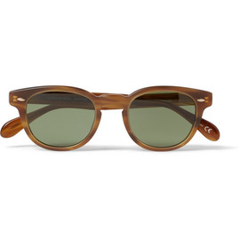 Oliver Peoples - Sheldrake Square-Frame Acetate Sunglasses