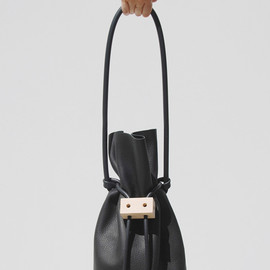 Building Block - Cable + Outlet Sculptural Bucket Bag