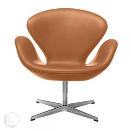 Fritz Hansen - Swan Chair Natural Leather