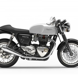 Triumph - Thruxton 1200 - white right side