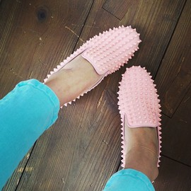 Christian Louboutin - Rolling Spikes Flat