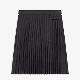 FRED PERRY, MARGARET HOWELL - MARGARET HOWELL PLEATED SKIRT