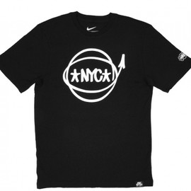 Nike, Eric Haze - Air Force 1 / NYC Baller Tee - Black