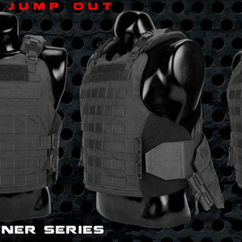 FirstSpear™, Battleware - Jump Out Vest - Black