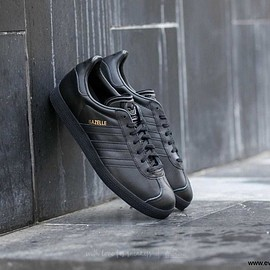Adidas - Gazelle/Core Black/Core Black/Gold Metallic