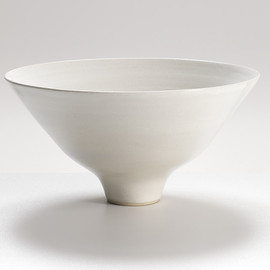 Lucie Rie - Large Footed Bowl, circa 1968