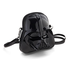 thinkgeek - Star Wars Darth Vader Molded Crossbody Purse