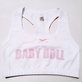 creepyyeha - BABY DOLL Bra Top ( Bold )