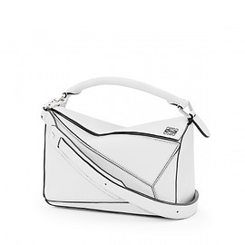 LOEWE - puzzle small bag soft white