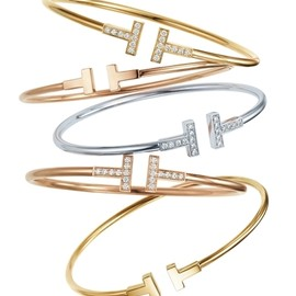 Tiffany & Co. - Bracelet, TIFFANY T