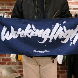 THE UNION / THE COLOR - WORKING HIGH TOWEL (graphics by zenone)