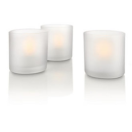 Philips - Naturelle TeaLights, 3 pièces  69187/60/PH