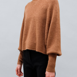 Acne - Darko Alpaca Sweater in Camel Beige