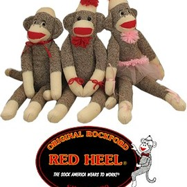 Rockford Red Heel - Sock Monkey
