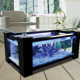 IKEA - ikea coffee table black glass