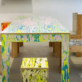 Jo Nagasaka - Coloring Furniture Series