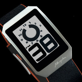 Phosphor - E Ink Digital Hour Watch