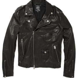 McQ - Alexander McQueen?Worn Leather Biker Jacket