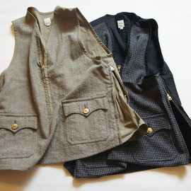 TATAMIZE - HALFZIP HUNTING VEST ('12 A/W)